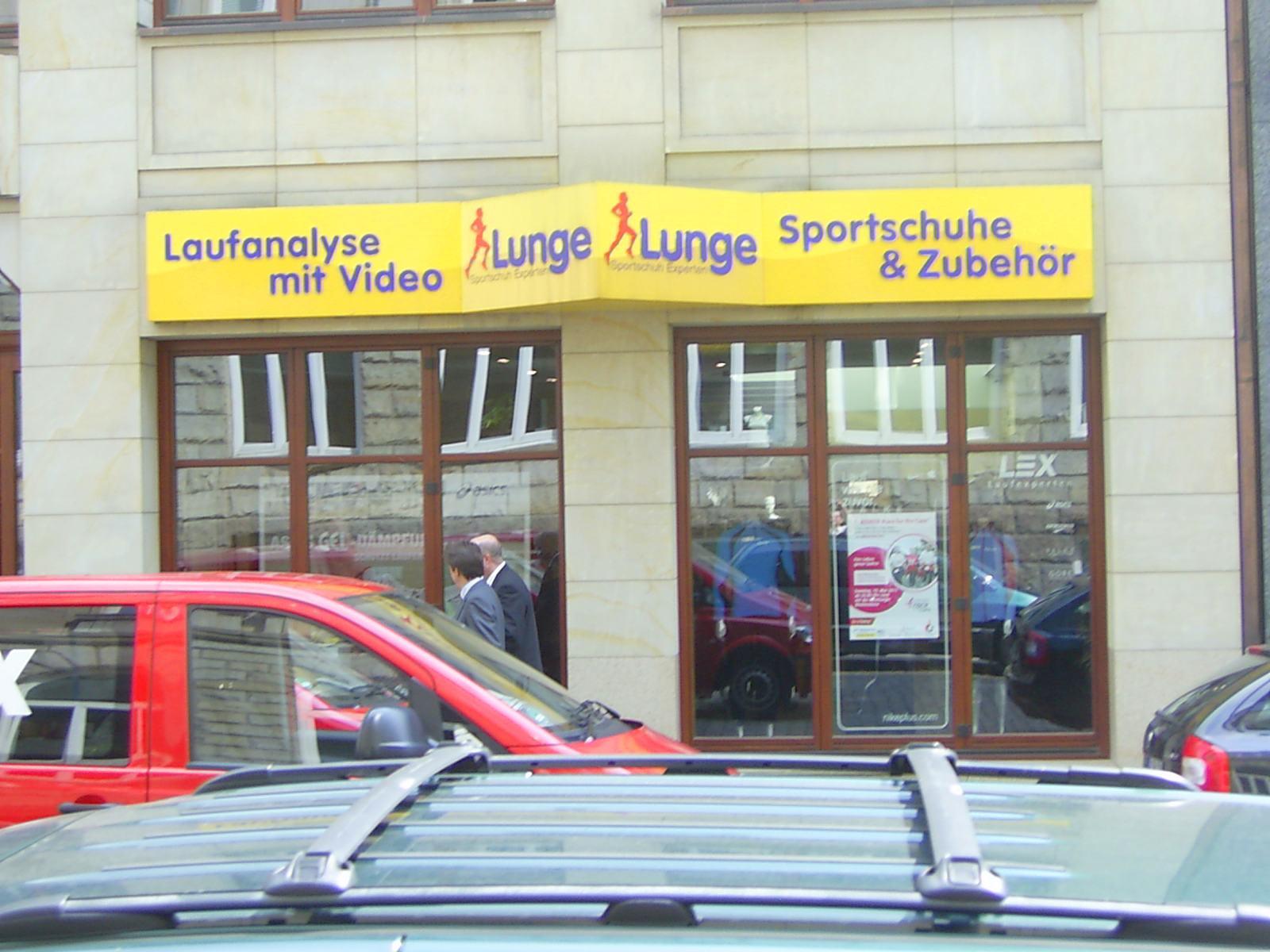 Lunge Laufschuh, Filiale Ferdinandstraße / City